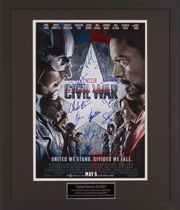 Captain America Civil War 16x20