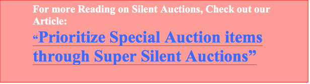 Prioritize Special Auction items through Super Silent Auctions