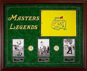 Masters Golf Tournament Auction Items